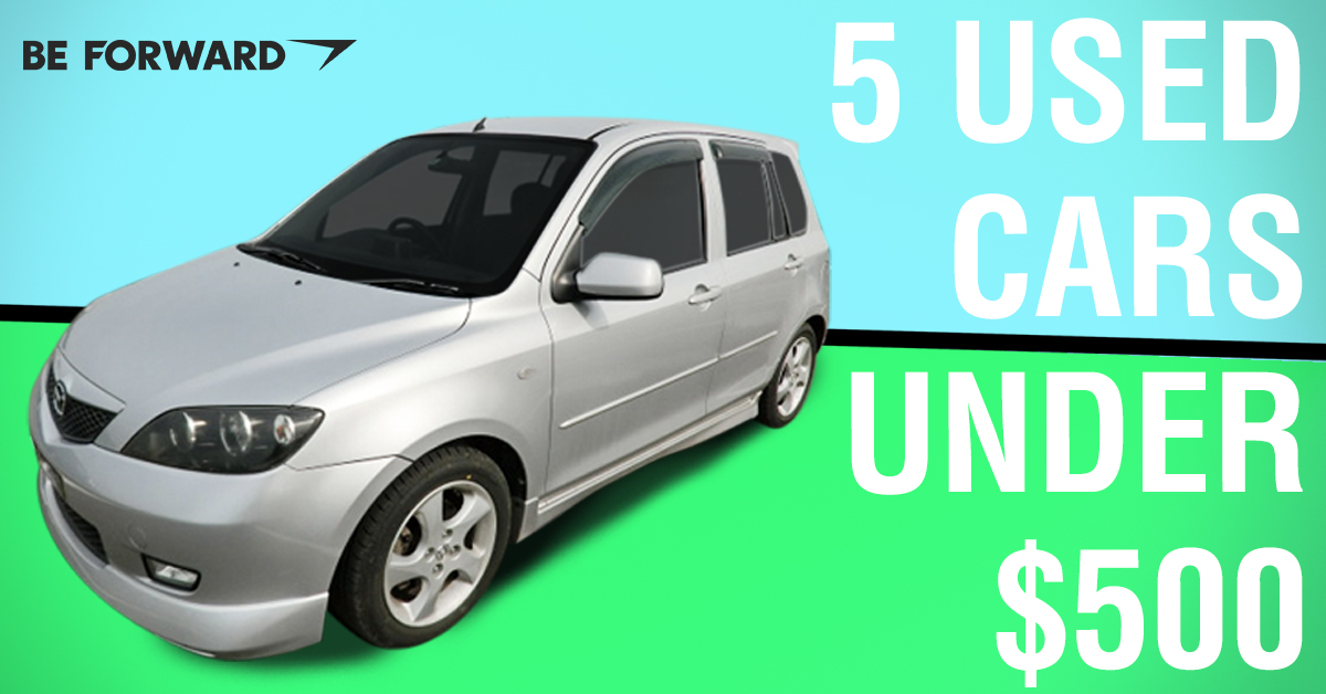 Unbelievable Deals: 5 Used Japanese Cars Under $500