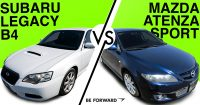 Subaru Legacy B4 vs. Mazda Atenza Sport Comparison: Which is Best?