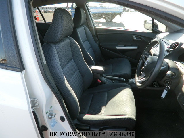A used 2011 Honda Insight from online used Japanese car exporter BE FORWARD.
