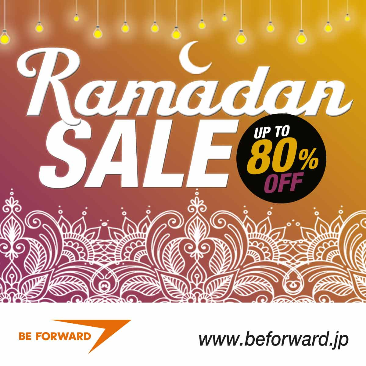 BE FORWARD Ramadan Sale - Save Up to 80% Off Used Cars