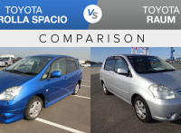Toyota Corolla Spacio vs Toyota Raum Features & Used Price Comparison