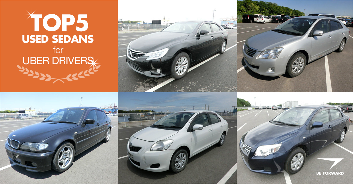 The 5 Best Used Cars to Maximize Your Uber Business