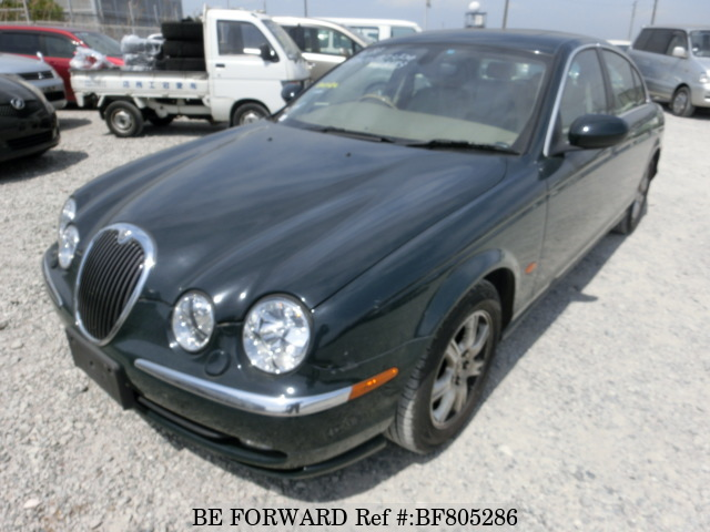 A used 2003 Jaguar S-Type from online used car exporter BE FORWARD.