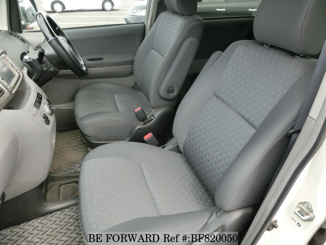 The interior of a used 2003 Toyota Voxy from online used car exporter BE FORWARD.
