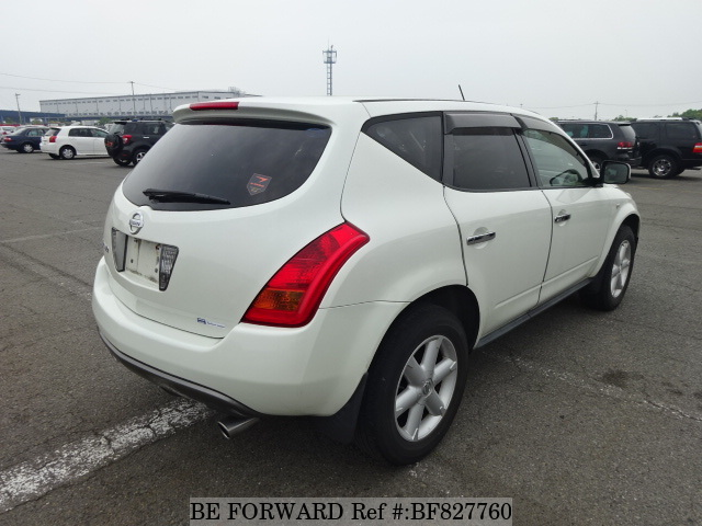 The rear of a used 2005 Nissan Murano from online used car exporter BE FORWARD.