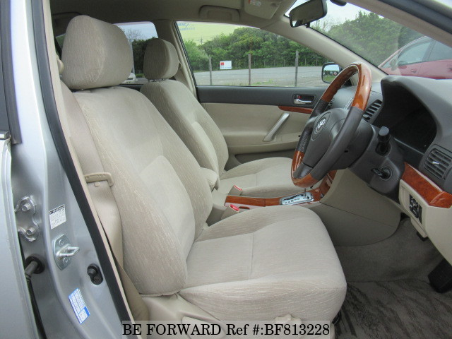 Interior of a used 2005 Toyota Premio from online used car exporter BE FORWARD.