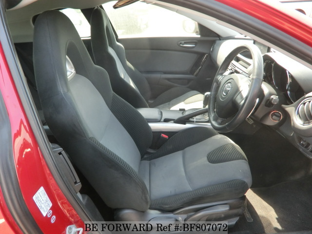 The interior of a used 2007 Mazda RX-8 from online used car exporter BE FORWARD.