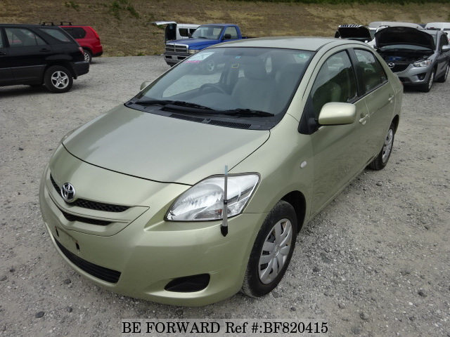 A used 2007 Toyota Belta from online used Japanese cars exporter BE FORWARD.