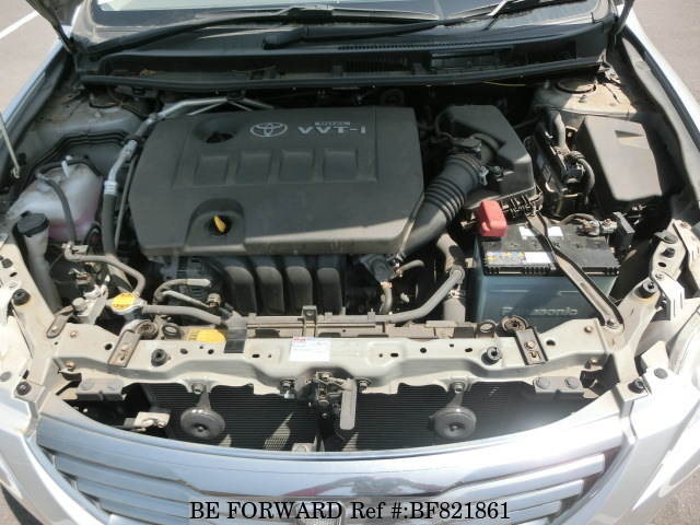 A used 2007 Toyota Premio engine from online used car exporter BE FORWARD.