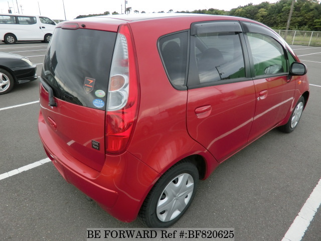 The rear of a used 2009 Mitsubishi Colt from online used car exporter BE FORWARD.
