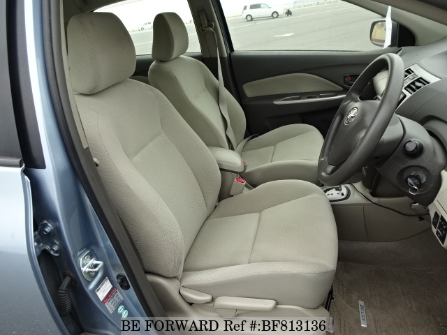 Interior of a used 2009 Toyota Belta from online used car exporter BE FORWARD.