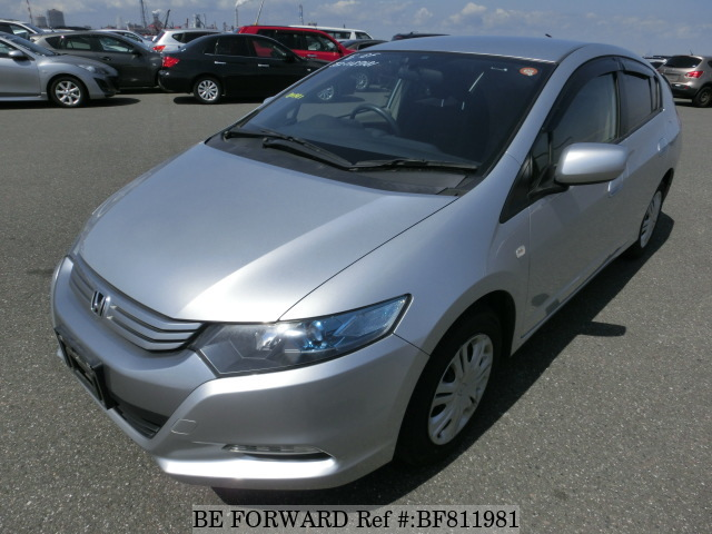 A used 2010 Honda Insight from online used Japanese used car exporter BE FORWARD.