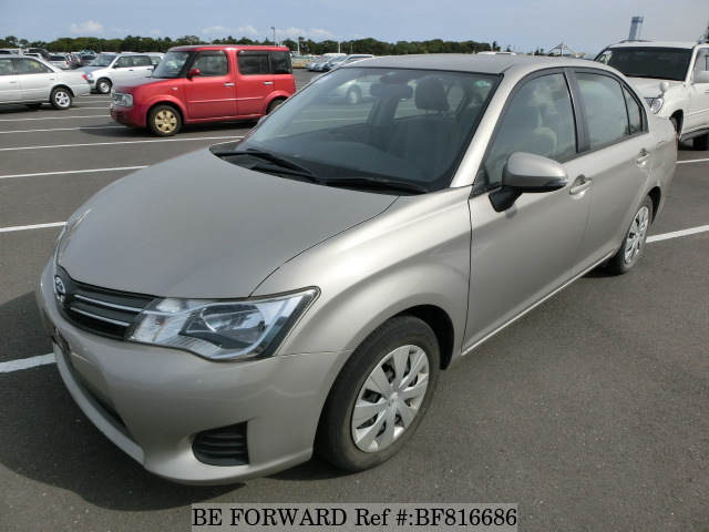 A used 2013 Toyota Corolla Axio from online used car exporter BE FORWARD.
