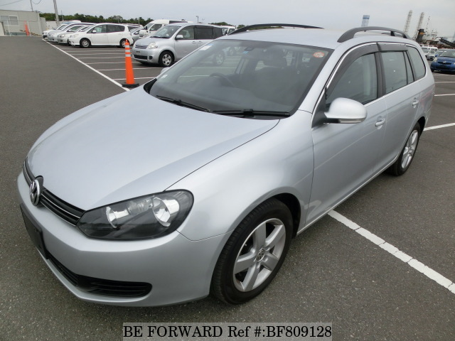 A used 2013 Volkswagen Golf from online used Japanese car exporter BE FORWARD.