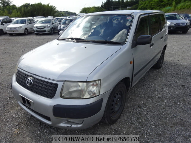 A used 2003 Toyota Succeed Van from online used car exporter BE FORWARD.