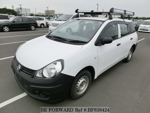 A used 2013 Nissan Ad Van from online used car exporter BE FORWARD.