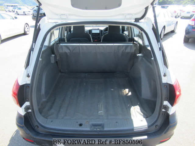 The boot of a used 2010 Nissan Ad Van from online used car exporter BE FORWARD.