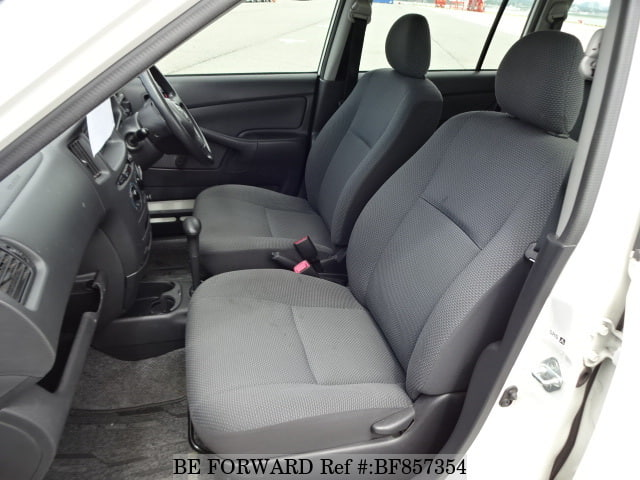 The interior of a used 2012 Toyota Succeed from online used car exporter BE FORWARD.