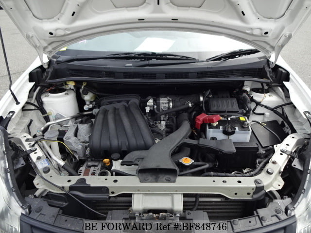 Engine of a used 2011 Nissan Ad Van from online used car exporter BE FORWARD.