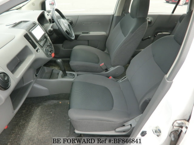 The interior of a used 2011 Nissan Ad Van from online used car exporter BE FORWARD.
