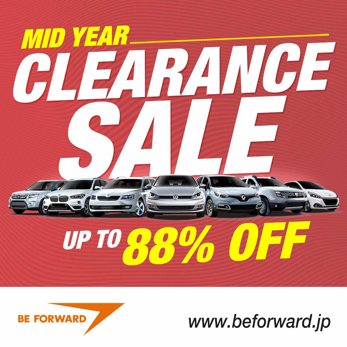 BE FORWARD BIG Sale - Up to 90% Off Japanese Used Cars