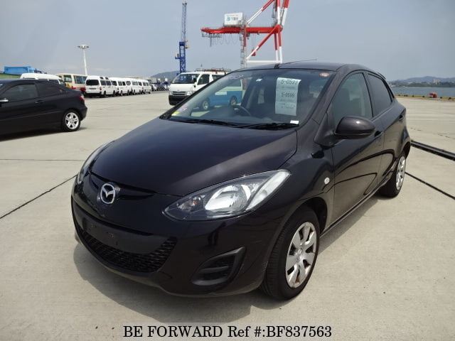 Front View of Used 3rd Generation 2014 Mazda Demio