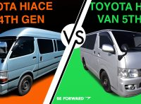 4th & 5th Generation Toyota HiAce Vans: A Head to Head Comparison
