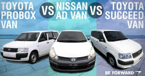 toyota probox vs succeed vs nissan ad van