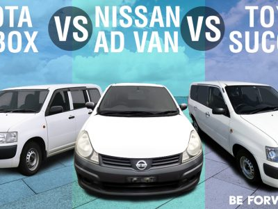 Battle of the Vans: Toyota Probox vs. Toyota Succeed vs. Nissan Ad