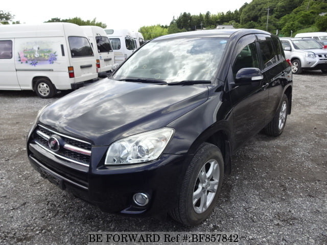 A used 2008 Toyota RAV4 from online used car exporter BE FORWARD.