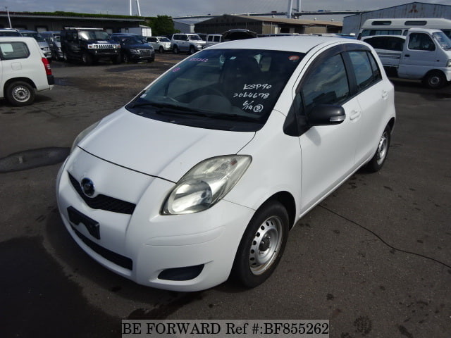 A used 2008 Toyota Vitz from online used car exporter BE FORWARD.