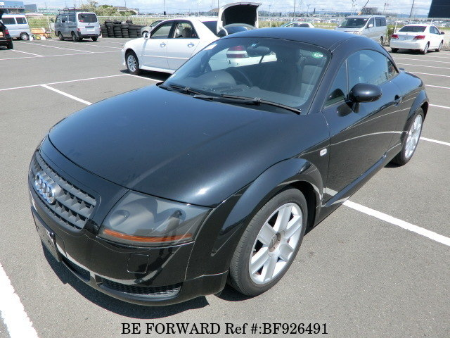 A used 2004 Audi TT from online used car exporter BE FORWARD.