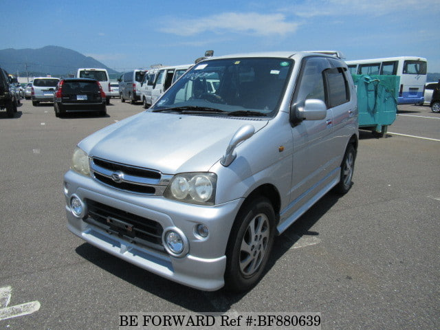 A used 2006 Daihatsu Terios Kid from online used car exporter BE FORWARD.