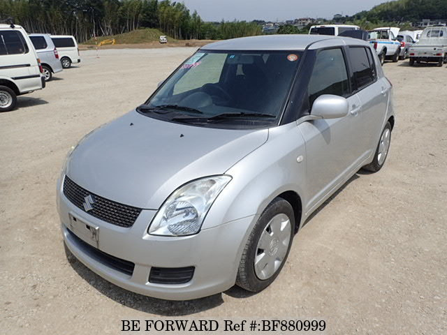 A used 2009 Suzuki Swift from online used car exporter BE FORWARD.