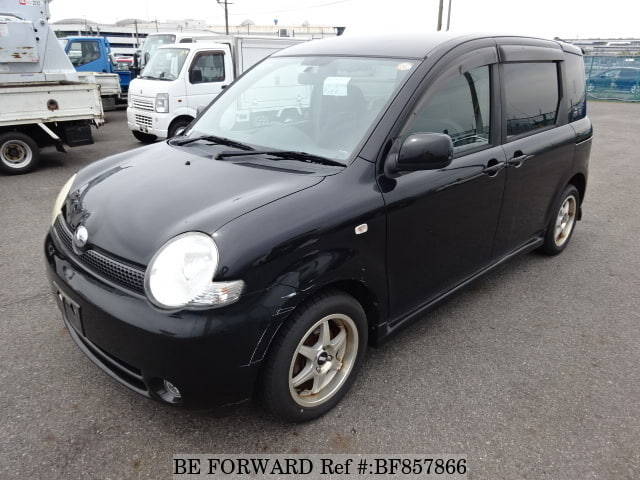 A used 2004 Toyota Sienta from online used car exporter BE FORWARD.