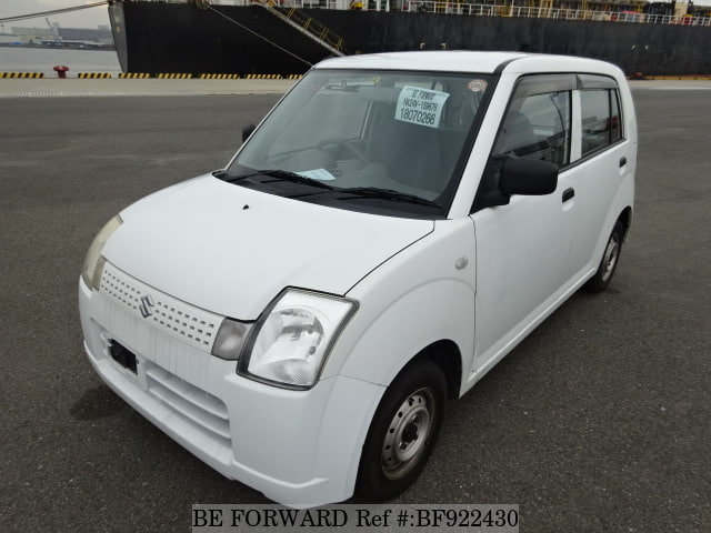 A used 2007 Suzuki Alto from online used car exporter BE FORWARD.