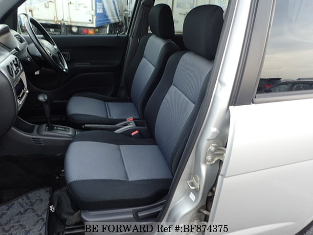 The interior of a used 2001 Daihatsu Terios Kid from online used car exporter BE FORWARD.