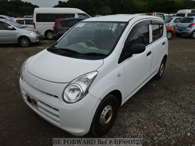 A used 2010 Suzuki Alto from online used car exporter BE FORWARD.