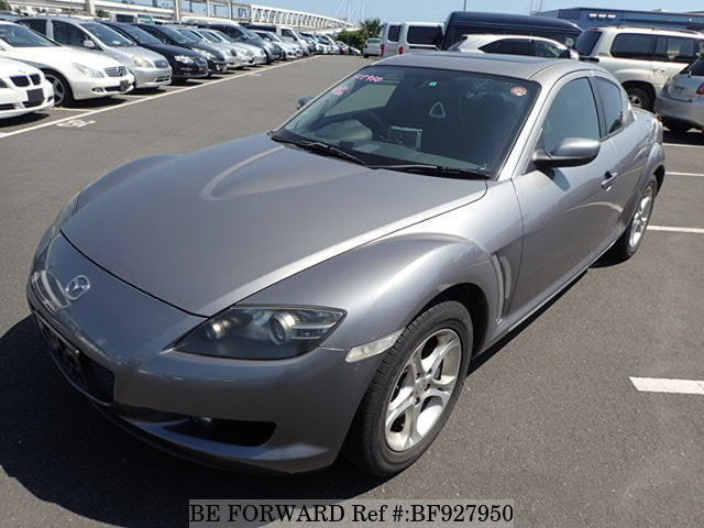 A used 2004 Mazda RX-8 from online used car exporter BE FORWARD.