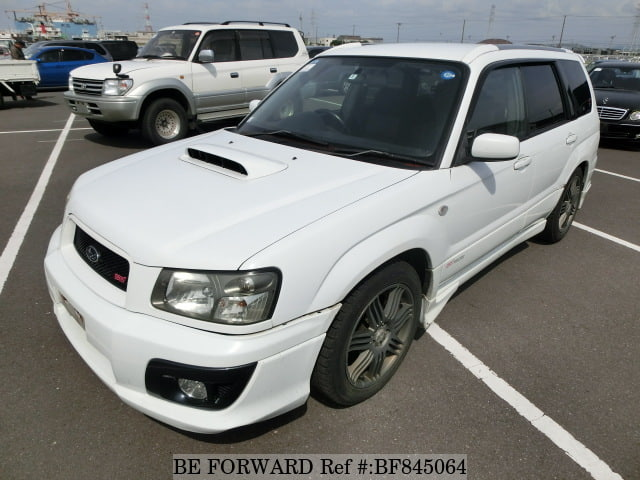 A used 2004 Subaru Forester from online used car exporter BE FORWARD.