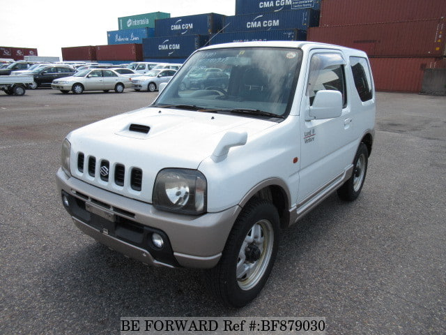 A used 2002 Suzuki Jimny from online used car exporter BE FORWARD.