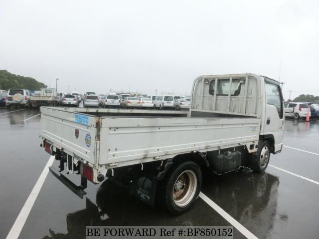 The rear of a used 2004 Isuzu Elf Truck from online used car exporter BE FORWARD.