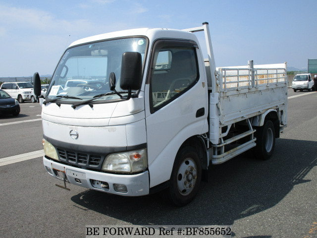 A used 2005 Hino Dutro Truck from online used car exporter BE FORWARD.