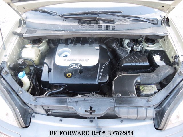 A used 2004 Hyundai Tucson engine from online used car exporter BE FORWARD.