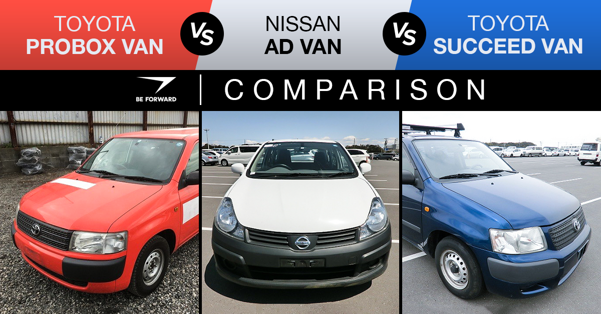 ad van vs probox van vs succeed van