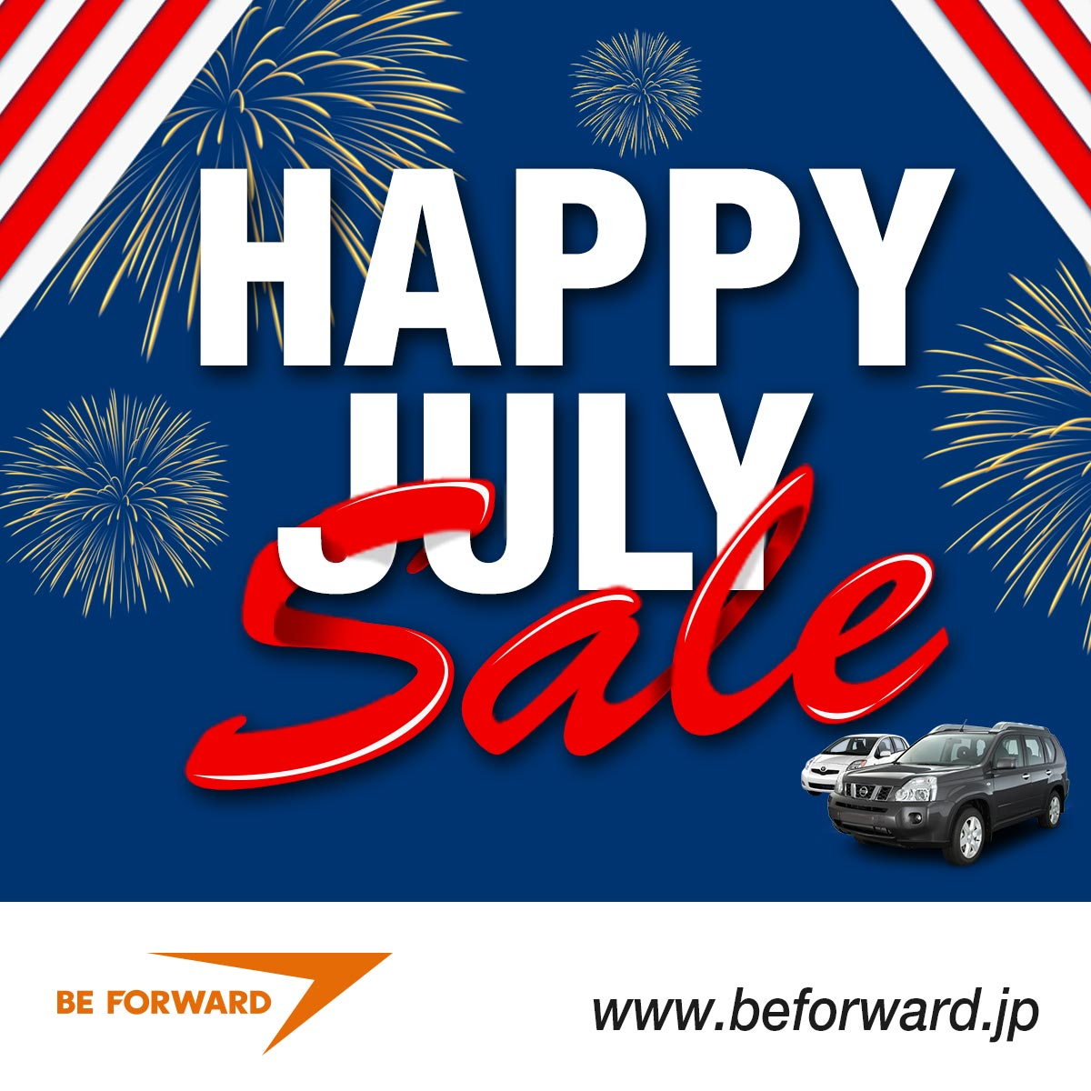 Happy July Sale - Up to 90% Off Japanese Used Cars