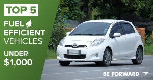 Top 5 Fuel Efficient Vehicles Under $1,000 - BE FORWARD