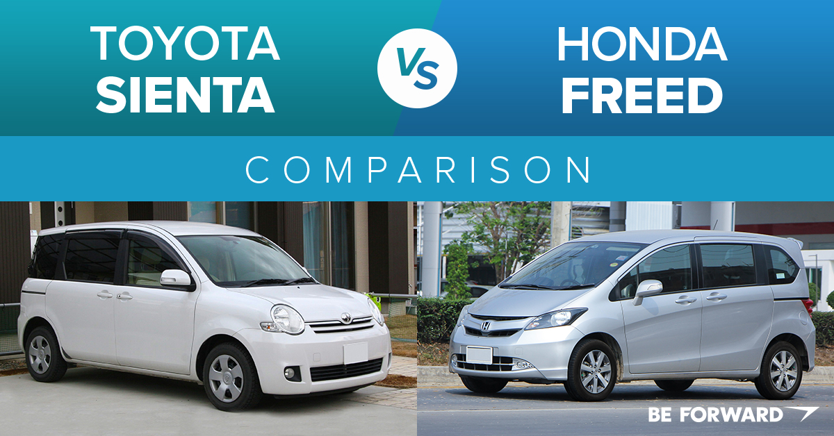 Meet the Honda Freed: A Toyota Sienta Alternative - BE FORWARD