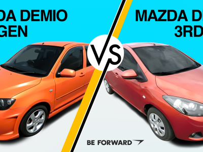Budget vs. Design: A Closer Look at the Mazda Demio 2nd & 3rd Generations