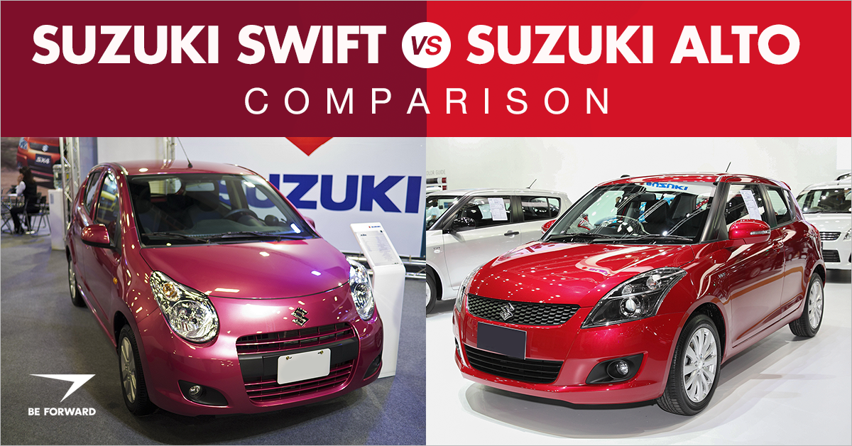 The Suzuki Swift And Alto Are Both Common Hatchbacks In Many Parts Of World Including Europe Asia Africa These Cars Have One Thing